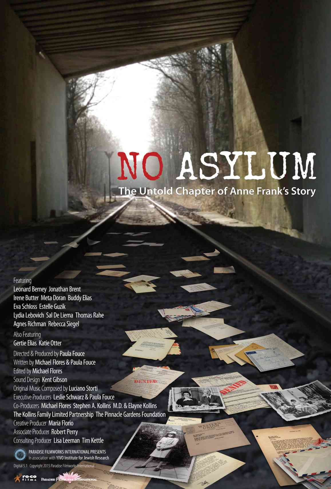 No Asylum The Untold Chapter Of Anne Frank S Story